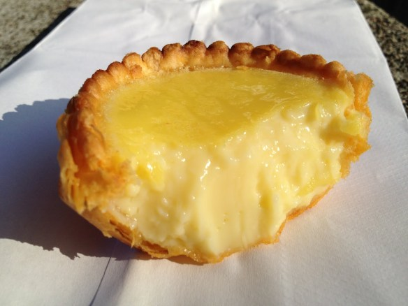 Egg custard tart Golden Gate Bakery