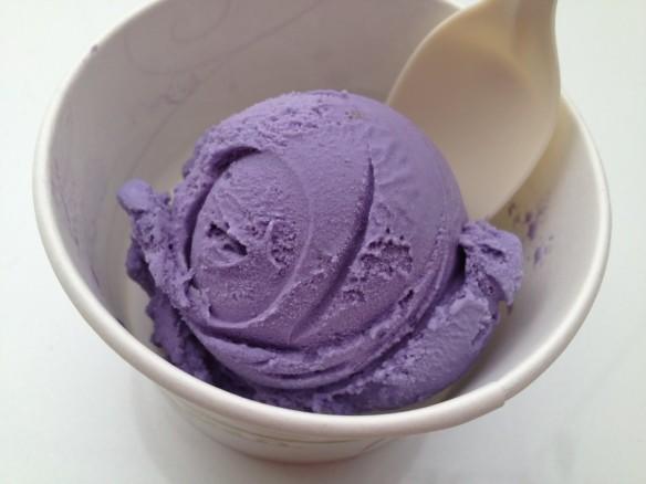 Ube ice cream Mitchell's Ice Cream