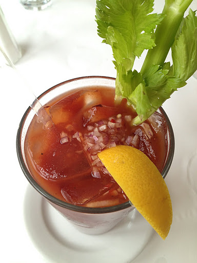 Balsamic bloody Mary Zuni Cafe