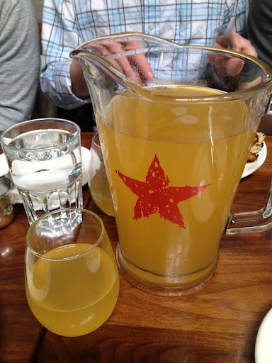 Bottomless peach mimosas Ironside
