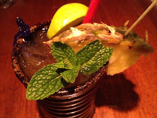 Mai tai cocktail Betelnut Restaurant