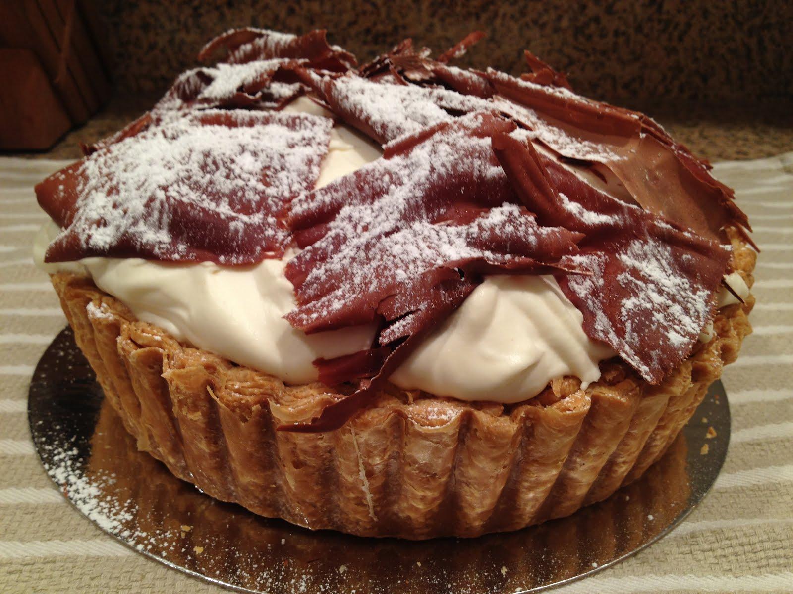 Banana cream tart – Tartine Bakery