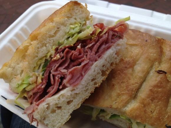 Corned beef sandwich The Sentinel