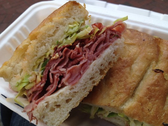 Corned beef sandwich The Sentinel