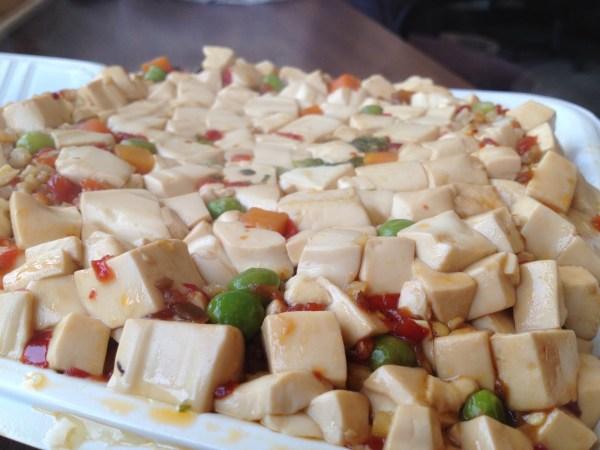 Spicy ma po tofu Xiao Long Bao Kitchen