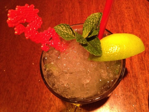 Mao-jito cocktail Betelnut Restaurant
