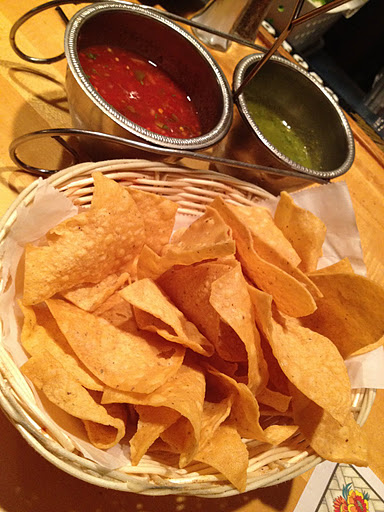 Chips and salsa Tommy's Mexican Restaurant