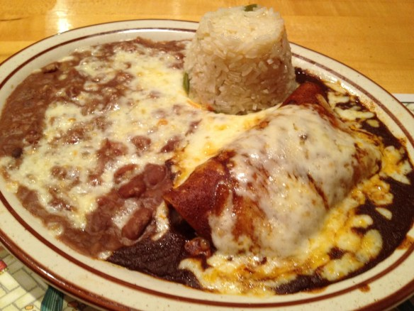 Chicken enchilada Tommy's Mexican Restaurant