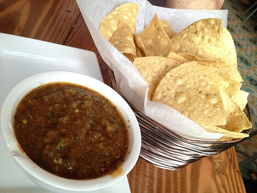 Chips and salsa Tacolicious