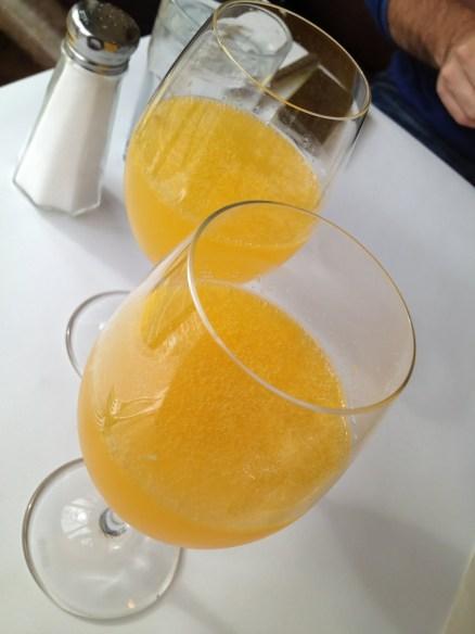 Mimosas Zuni Cafe