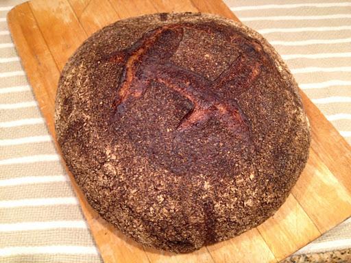 Wheat bread loaf Tartine Bakery