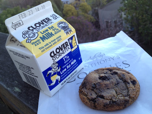 Cookies and cream cookie Anthony's Cookies