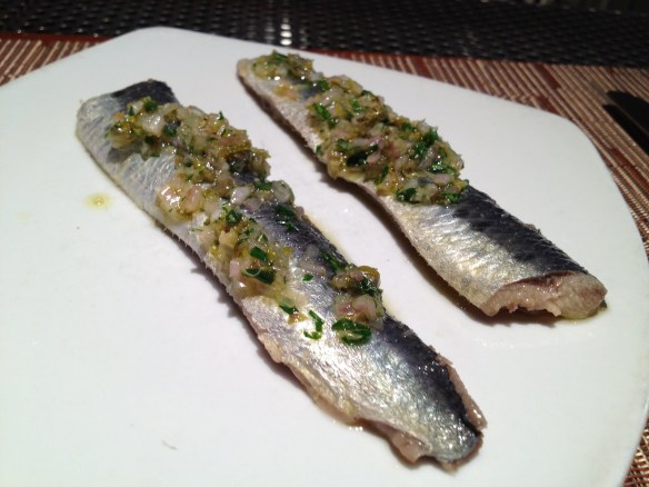 Marinated local sardines COCO500