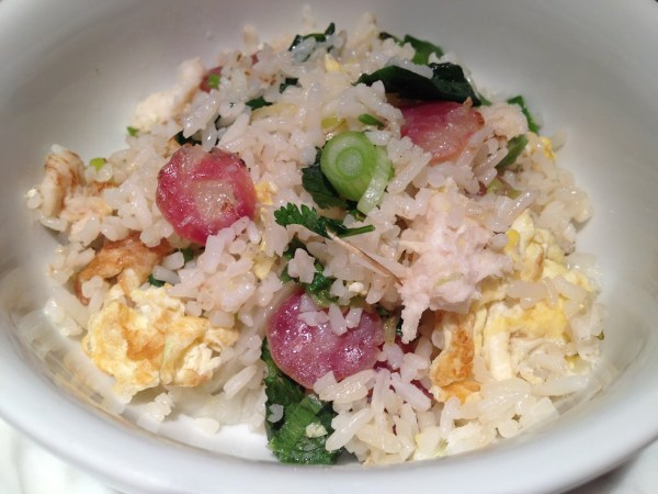 Salt cod fried rice Mission Chinese Food