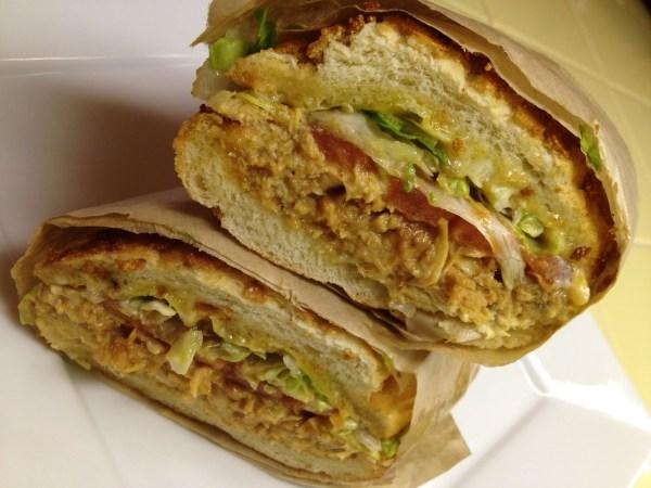 Menage a trois sandwich Ike's Place