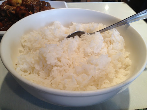 Steamed rice Patio Filipino