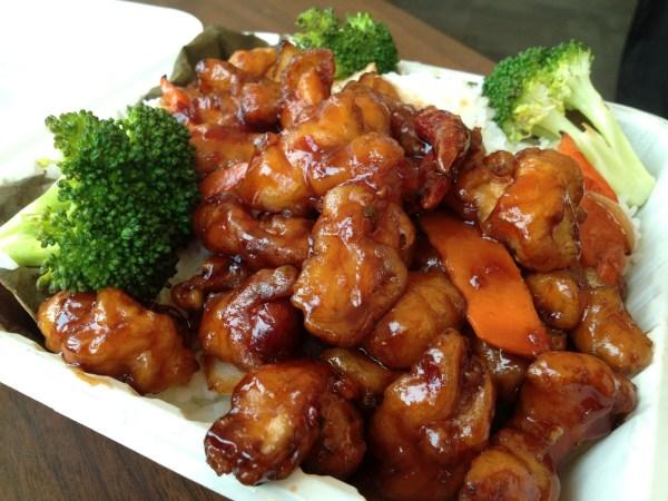 General Tso's chicken Xiao Long Bao Kitchen