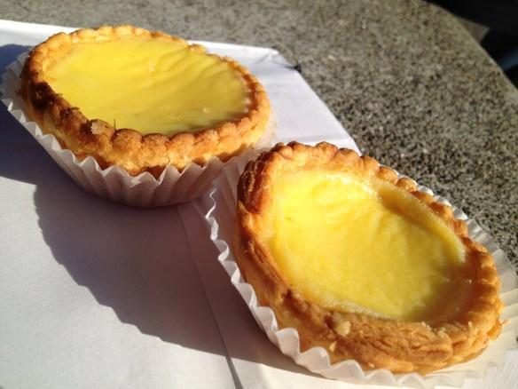 Egg custard tart Golden Gate Bakery