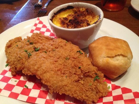 Fried catfish combo Roux Louisiana Kitchen