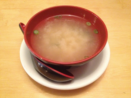 Miso soup Asian Gourmet & Sushi Bar