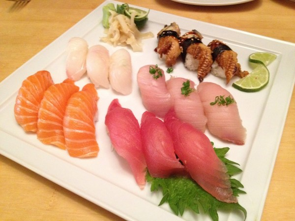 Sushi lovers plate Asian Gourmet & Sushi Bar