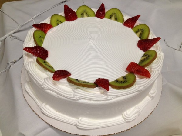 Fresh strawberry cake Golden Delight Bakery