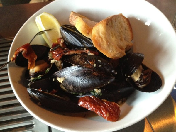Prince Edward Isle mussels Hubbard Grille