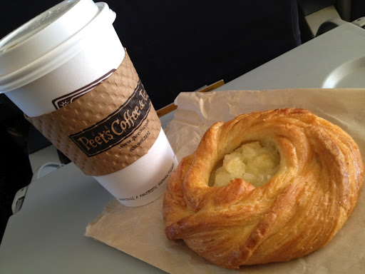 Apple danish Peet's Coffee & Tea