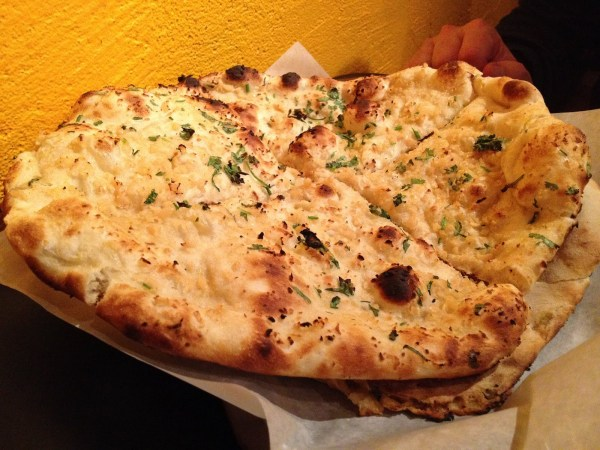 Garlic naan Curry Boyzz