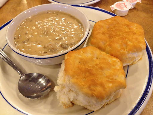Biscuits and gravy Bob Evans