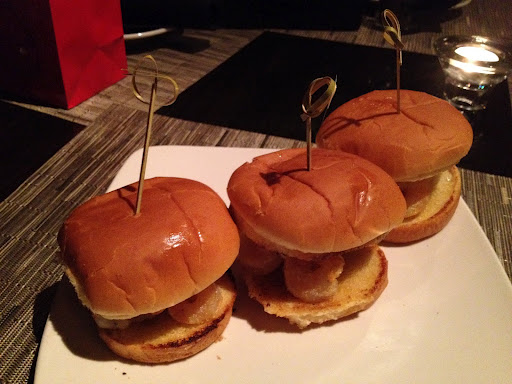 Fried shrimp sliders T. Murray's Bar and Kitchen