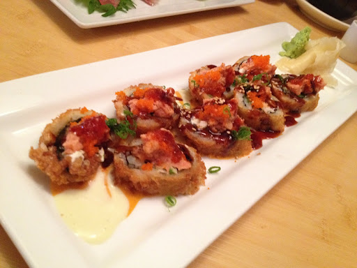 Buckeye roll Asian Gourmet & Sushi Bar