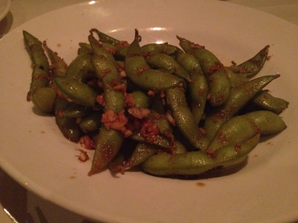 Warm edamame Wang's in the Desert