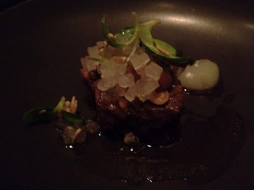 Beef braised in pear Benu