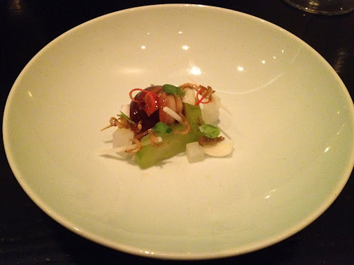 Caramelized anchovy Benu