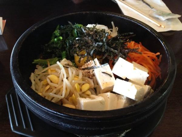 Tofu stone pot rice Mom's Tofu House