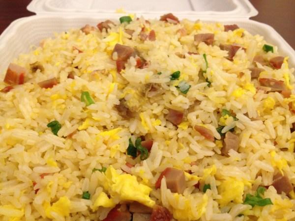 Bbq pork fried rice Grand Palace Restaurant
