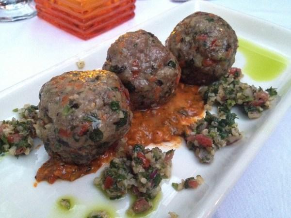 Moroccan lamb meatballs The Tropicale