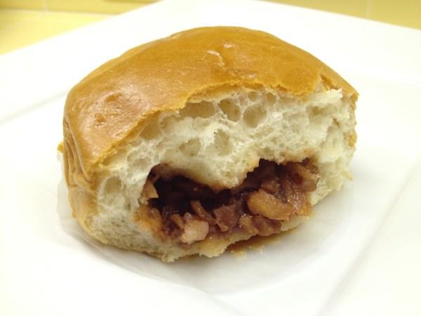 Baked bbq pork bun Tung Sing Restaurant